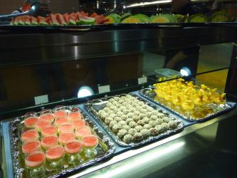 Desserts on King Seaways