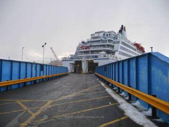 Vehicle ramp onto King Seaways