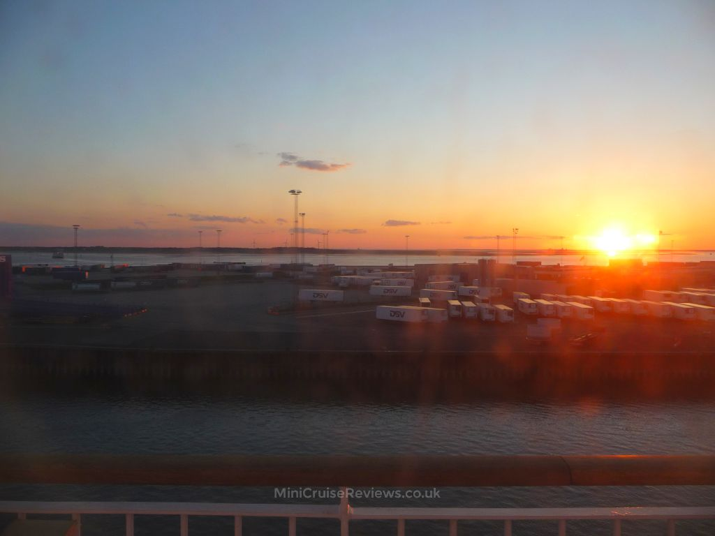 Sunset in Esbjerg