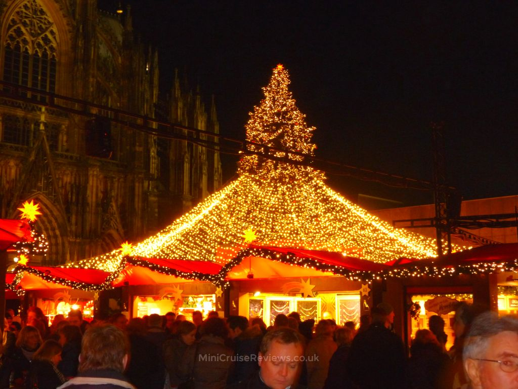 Christmas Market at the Cologne Cathedral