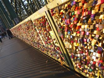 Love Locks on Hohenzollernbrücke Bridge