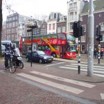Hop-on Hop-off bus tour of Amsterdam