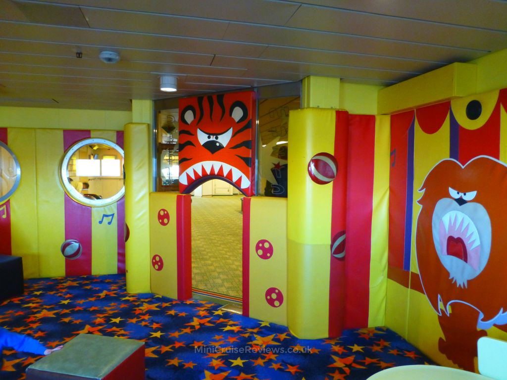 Inside the Children's playroom