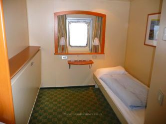 Oceanview cabin on Pride of Rotterdam