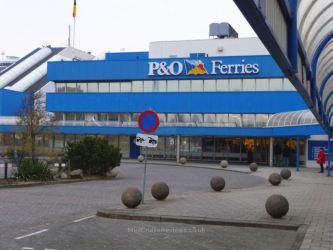 P&O Ferries Terminal at Europoort, Rotterdam