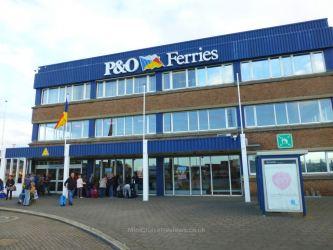 P&O Ferries Zeebrugge Terminal