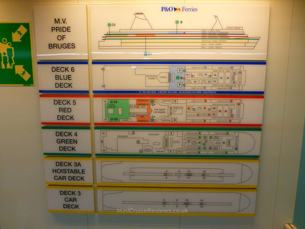 Pride of Bruges deck plan