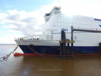 Pride of Rotterdam docked in Hull