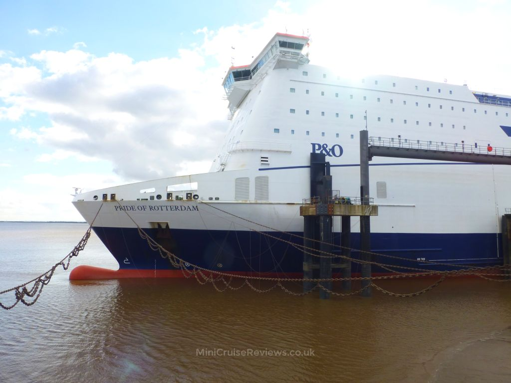 Hull To Bruges Ferry >> P&O Ferries Pride of Rotterdam Statistics & Deck Plan