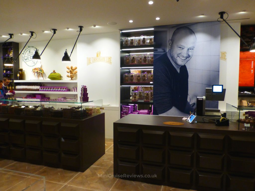 The revamped Chocolate Line store in Bruges