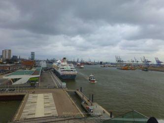 Balmoral docked in Altona, Hamburg