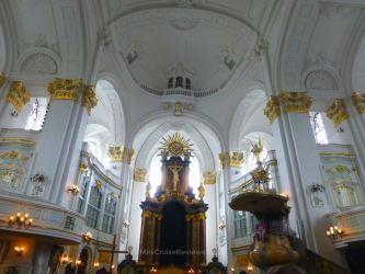 Inside Hauptkirche St. Michaelis