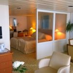 One of the largest suites onboard