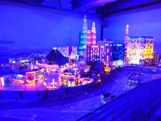 Simulated day and night cycles at Miniatur Wunderland