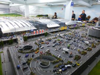 The airport at Miniatur Wunderland