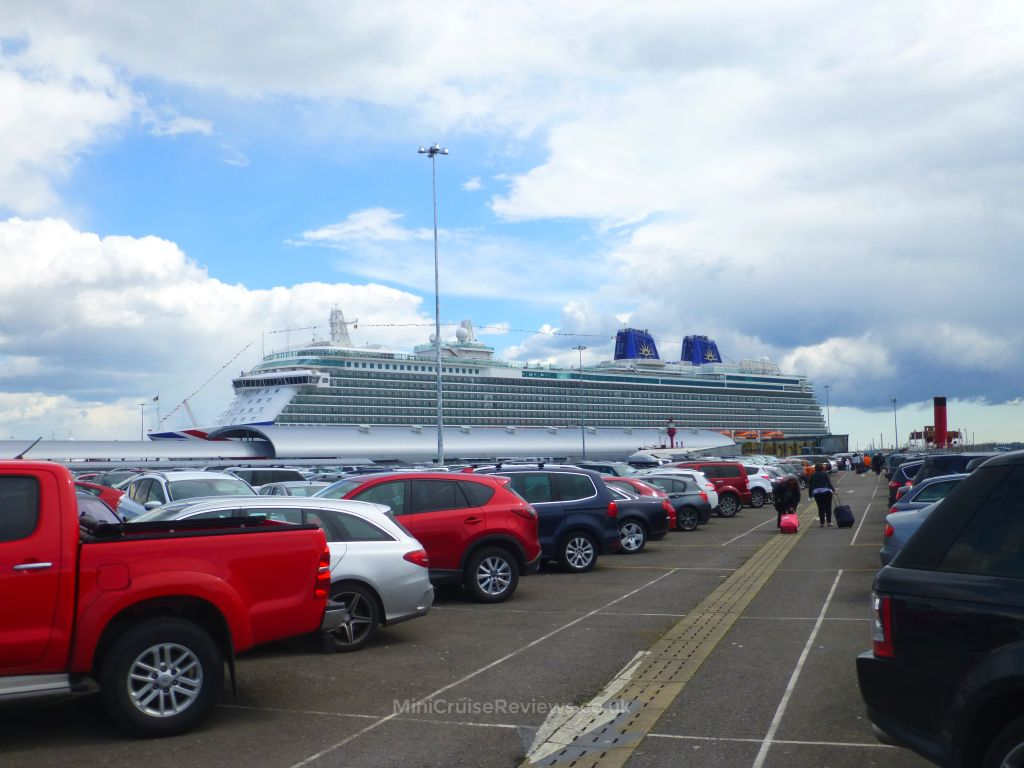 Britannia at City Cruise Terminal