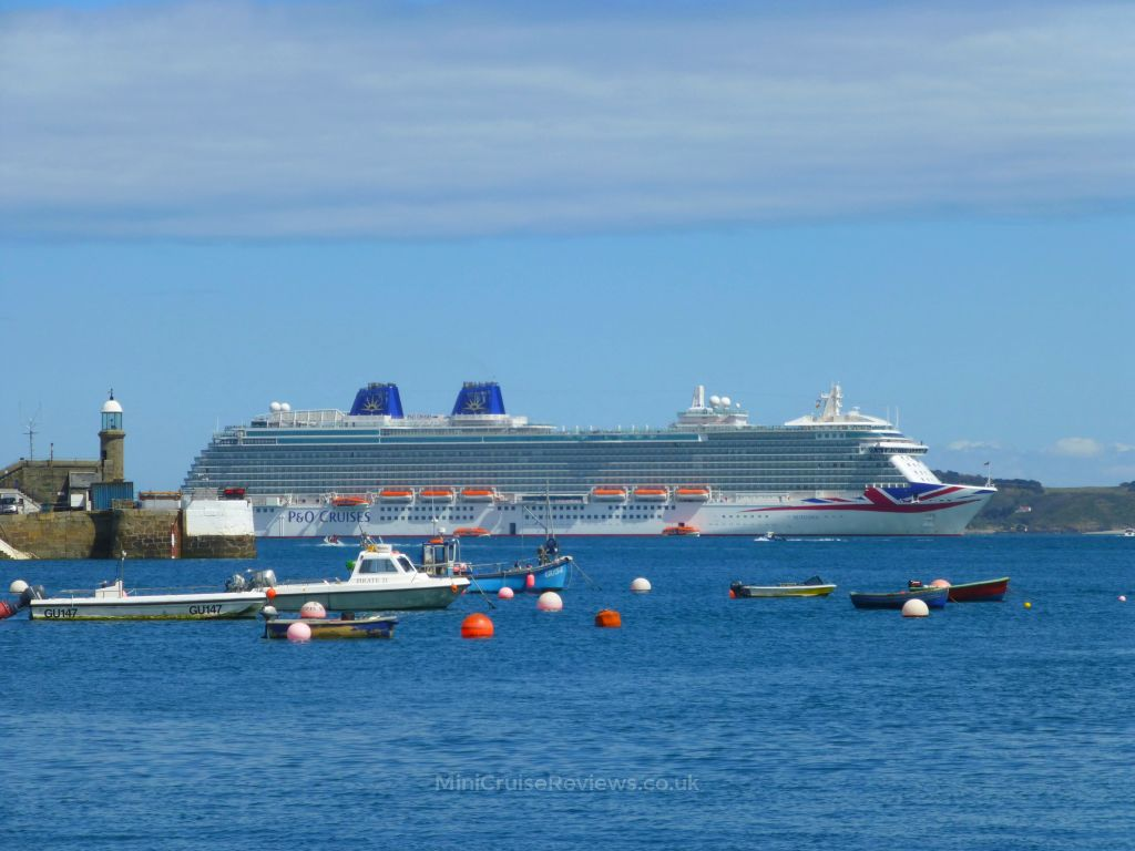 Britannia seen from St Peter Port