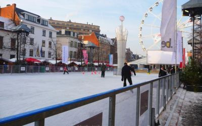 Ice rink in Brussels
