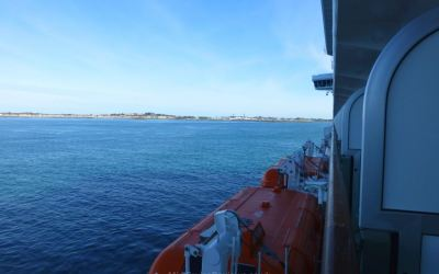 Sailing to Guernsey