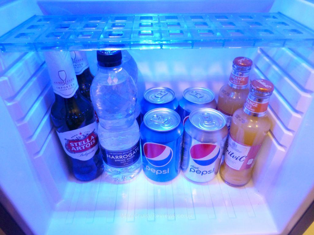 Club Class Minibar